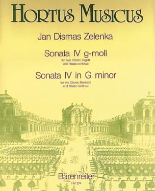 Jan Dismas Zelenka - Sonata Nr. 4 g-moll - Oboen Fagott BC - Sheet Music - di-arezzo.co.uk