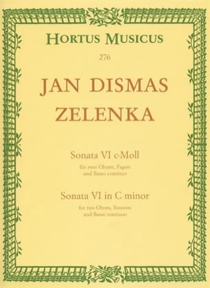Jan Dismas Zelenka - Sonata Nr. 6 In C Min. - Sheet Music - di-arezzo.co.uk