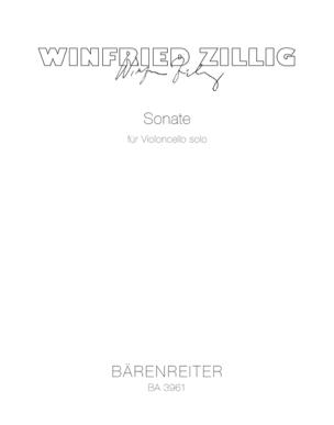 Winfried Zillig - Sonata for Violoncello Solo - Sheet Music - di-arezzo.com