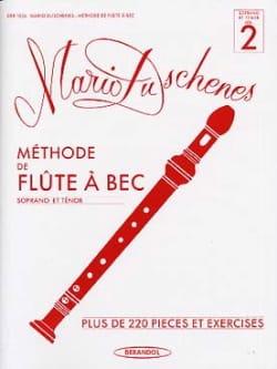Mario Duschenes - Méthode de Flûte à Bec - Volume 2 - Soprano/Ténor - Partition - di-arezzo.fr