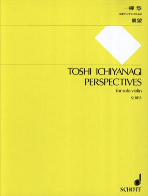 Perspectives Toshi Ichiyanagi Partition Violon - laflutedepan