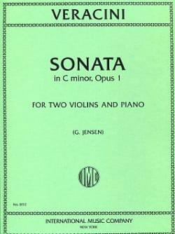 Sonate C minor op. 1 –2 Violins piano - laflutedepan.com
