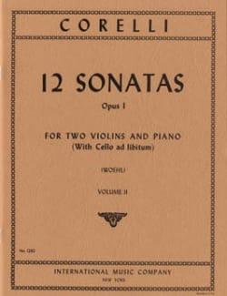 CORELLI - 12 Sonatas op. 1 - Volume 2: n ° 4-6 - 2 Violins piano - Sheet Music - di-arezzo.com