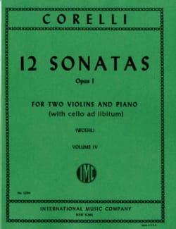 CORELLI - 12 Sonatas op. 1 - Volume 4: n ° 10-12 - 2 Violins piano - Sheet Music - di-arezzo.com