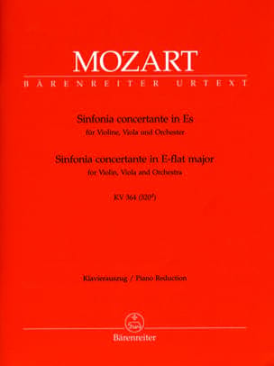 MOZART - Sinfonia concertante Es-Dur KV 364 - Sheet Music - di-arezzo.co.uk