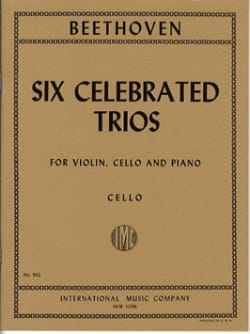 6 Celebrated trios – Parts - Ludwig van Beethoven - laflutedepan.com