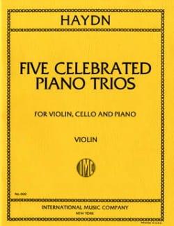 5 Celebrated trios -Parts - HAYDN - Partition - laflutedepan.com