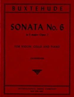 Sonata n° 6 E major op. 2 -Parts - laflutedepan.com