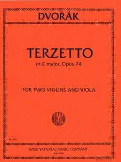 DVORAK - Terzetto C major op. 74 - 2 Violins viola - Parts - Partition - di-arezzo.com
