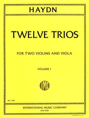 HAYDN - 12 Trios - Volume 1 - 2 Violins Viola - Sheet Music - di-arezzo.com