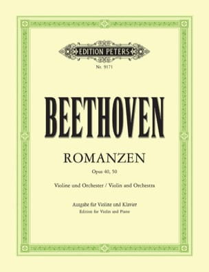 BEETHOVEN - Romanzen op. 40 G-Dur, op. 50 F-Dur - Violine - Sheet Music - di-arezzo.co.uk