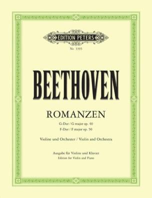 Romanzen - Violine (Flesch) - BEETHOVEN - Partition - laflutedepan.com