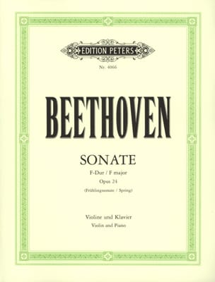 Ludwig van Beethoven - Sonate op. 24