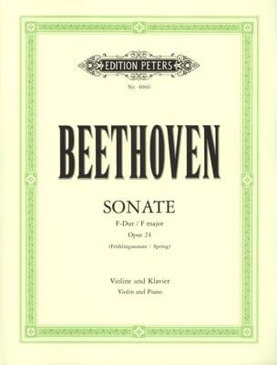 BEETHOVEN - Sonata op. 24 Springtime - Sheet Music - di-arezzo.co.uk