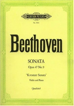 Sonata op. 47 n° 9 Kreutzer-Sonate BEETHOVEN Partition laflutedepan