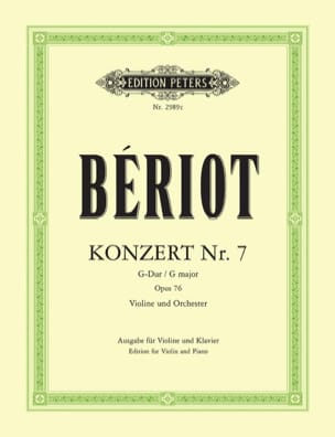 BÉRIOT - Konzert No. 7 G-Dur op. 76 - Sheet Music - di-arezzo.co.uk