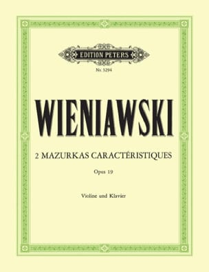 WIENIAWSKI - 2 Mazurkas features op. 19 - Sheet Music - di-arezzo.com