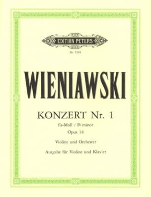 Concerto n° 1 fa dièse mineur op. 14 - Violon - laflutedepan.com
