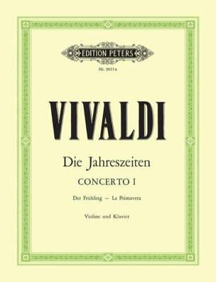 VIVALDI - コンチェルト・ラ・プリマヴェーラop。 8 n°1 - 楽譜 - di-arezzo.jp