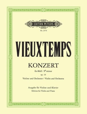 Henri Vieuxtemps - Violinkonzert Nr. 2 fis-moll op. 19 - Noten - di-arezzo.de