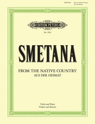 Bedrich Smetana - Aus Der Heimat - Sheet Music - di-arezzo.co.uk