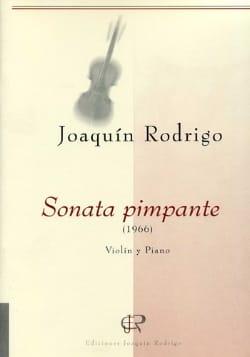 Sonate Pimpante - Joaquín Rodrigo - Partition - laflutedepan.com