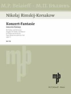 Konzert-Fantasie op. 33 - Nicolaï Rimsky-Korsakov - laflutedepan.com