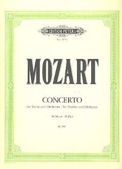Concerto Violon en si bém. maj. KV 207 - MOZART - laflutedepan.com