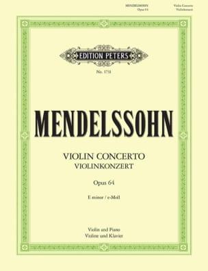 MENDELSSOHN - Violin Concerto op. 64 mi miner Oistrach - Sheet Music - di-arezzo.co.uk