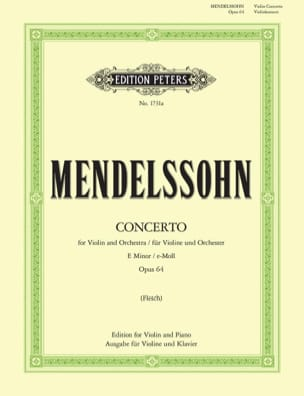 MENDELSSOHN - Violin Concerto in E minor op. 64 - Sheet Music - di-arezzo.co.uk