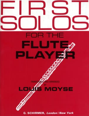 Louis Moyse - First Solos for the Flute player - Partition - di-arezzo.fr