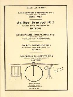 Dante Agostini - Solfège Syncopé n° 2 - Partition - di-arezzo.fr