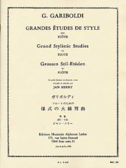 Giuseppe Gariboldi - Grandes études de style op. 134 - Partition - di-arezzo.fr