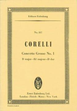 Concerto Grosso No.1 Ré Majeur - Arcangelo Corelli - laflutedepan.com