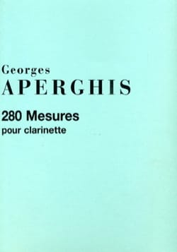 280 Mesures - Georges Aperghis - Partition - laflutedepan.com