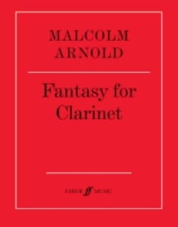 Malcolm Arnold - Fantasy for clarinet - Partition - di-arezzo.fr