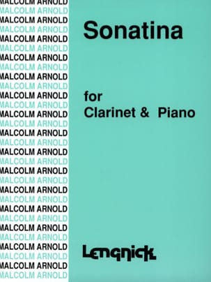 Malcolm Arnold - Sonatina - Sheet Music - di-arezzo.co.uk
