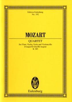 MOZART - Quartett D-Dur Kv 285 - Conducteur - Partition - di-arezzo.fr
