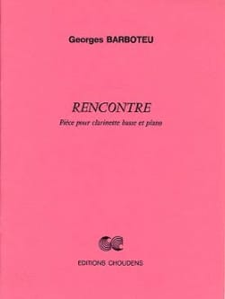Rencontre - Georges Barboteu - Partition - laflutedepan.com