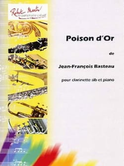 Poison d'Or Jean-François Basteau Partition Clarinette - laflutedepan