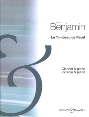 Arthur Benjamin - The tomb of Ravel - Sheet Music - di-arezzo.co.uk
