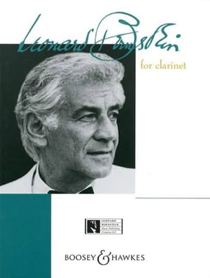 Leonard Bernstein for Clarinet BERNSTEIN Partition laflutedepan