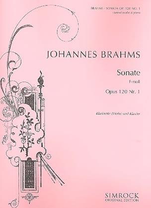 Sonate op. 120 n° 1 en fa mineur - BRAHMS - laflutedepan.com