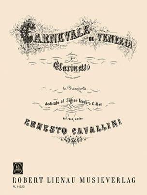 Carnevale di Venezia Ernesto Cavallini Partition laflutedepan