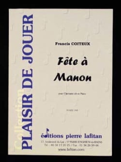 Francis Coiteux - Party in Manon - Sheet Music - di-arezzo.com