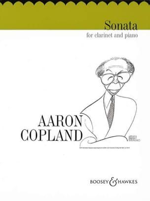 Sonata - Clarinet piano - Aaron Copland - Partition - laflutedepan.com
