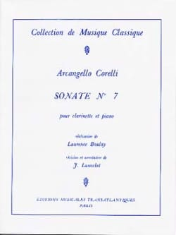 Arcangelo Corelli - Sonata for Clarinet n ° 7 - Sheet Music - di-arezzo.com
