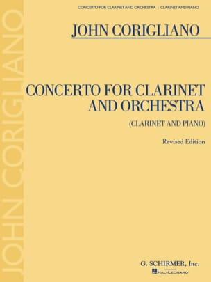 John Corigliano - Concerto For Clarinet And Orchestra - Sheet Music - di-arezzo.co.uk