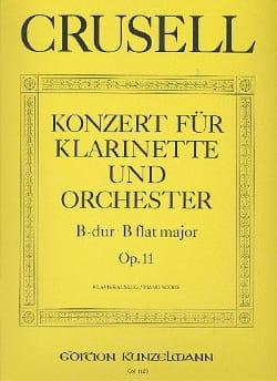 Konzert B-Dur op.11 - Klarinette Klavier - laflutedepan.com