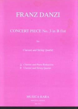 Concert Piece n° 3 in B flat - Clarinet piano Franz Danzi laflutedepan